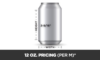 12 Oz Can Pricing