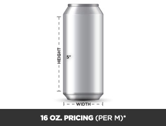 16 oz Can Pricing